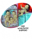 Marzipan baby mold, Marzipan baby mould, Sugarpaste baby, set of 4 molds, Free Worldwide shipping